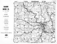 Boardman Township, Elkader, Clayton County 1950